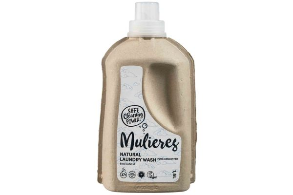 Mulieres Natural Laundry Wash Pure Unscented